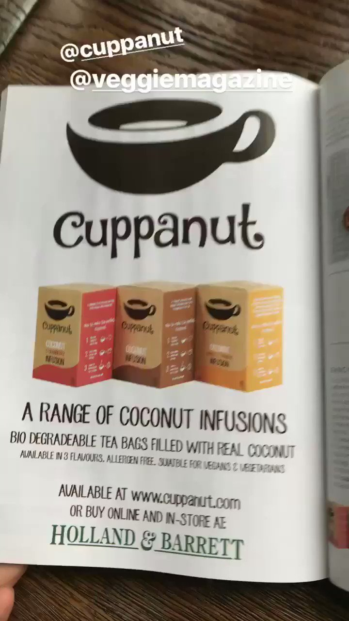 Casually reading @VeggieMagazine and... click here to get yours https://t.co/bjTS1REL2n @holland_barrett https://t.co/tVInMbrIXc