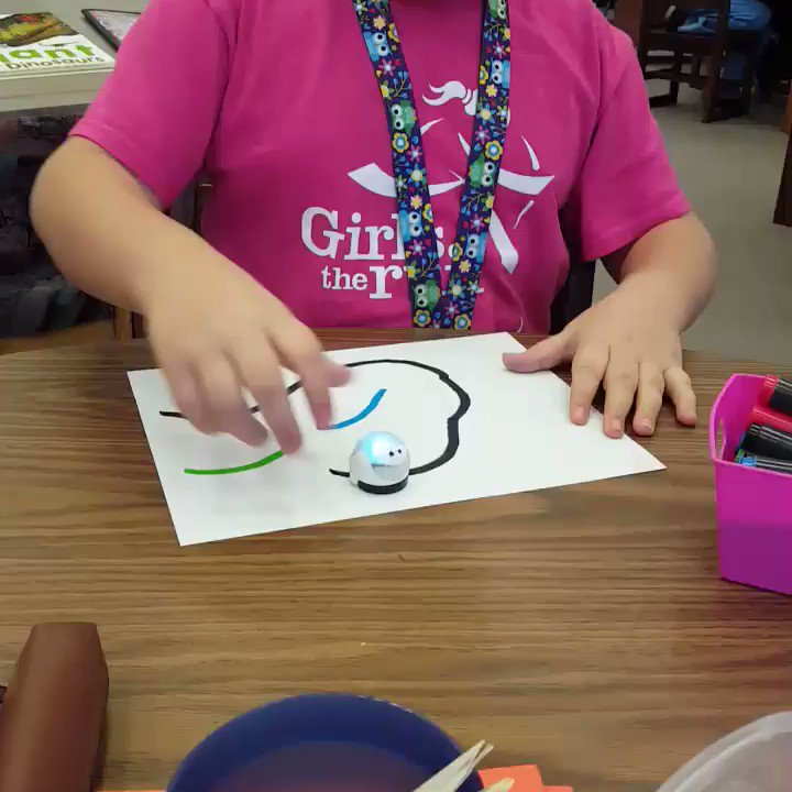 We are getting to know the Ozobots! #ccs118life