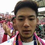 🌸㊗️🎊杉本健勇選手から、ファン・サポーターの方へ喜びのメッセージ!#ルヴァンカップ25歳 #MVP…