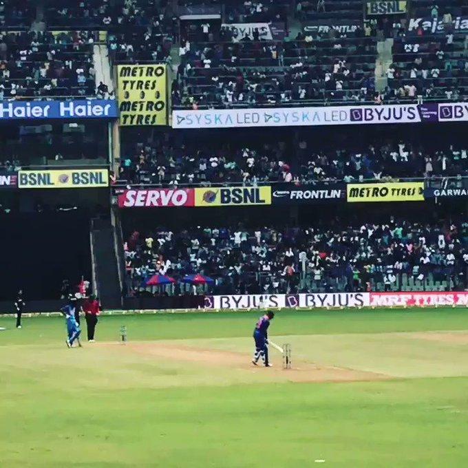 Virat Kohli getting to his 32nd ODI Century! Happy Birthday King Kohli!