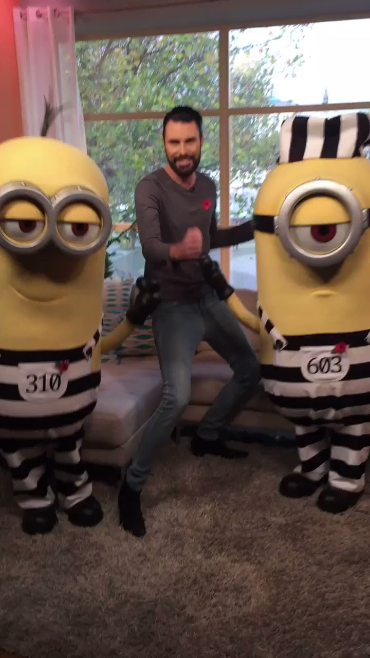 RT @thismorning: Best guests ever! @Minions @Rylan #DespicableMe3 https://t.co/JA841ymX1T