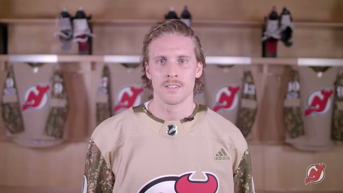 Looking forward to the @NJDevils Militar...