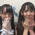 おはようございます☀みなさんがこの一週間がんばれるように、、二人からです❤️#STU48#福田朱里 …