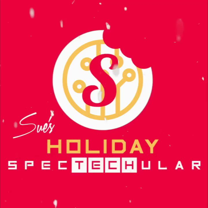 Baby it's CODE outside... 🍭 I am SO excited to be bringing #SuesTechKitchen to NYC this holiday season for a very special Holiday #SpecTECHular at @BridgeAtCornell! ❄️🤖❄️ The party starts 11/25! Get all the info here: