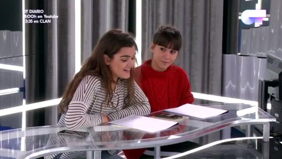 """Amaia y Aitana en el primer ensayo de """"C..."""
