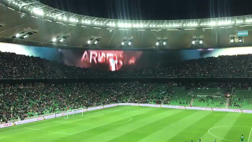 L'écran incroyable du stade de Krasnodar...