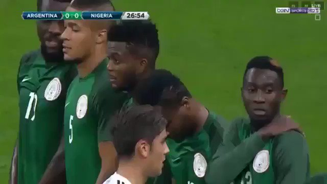 The highlights of Nigeria vs Argentina....