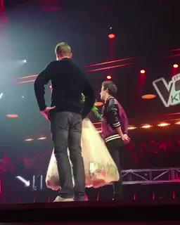 RT @jblancopoland: Jorge na scenie wraz z Edytą Górniak podczas nagrań do The Voice Kids w Polsce! #CześćJorge https://t.co/8oB5TSqWnd