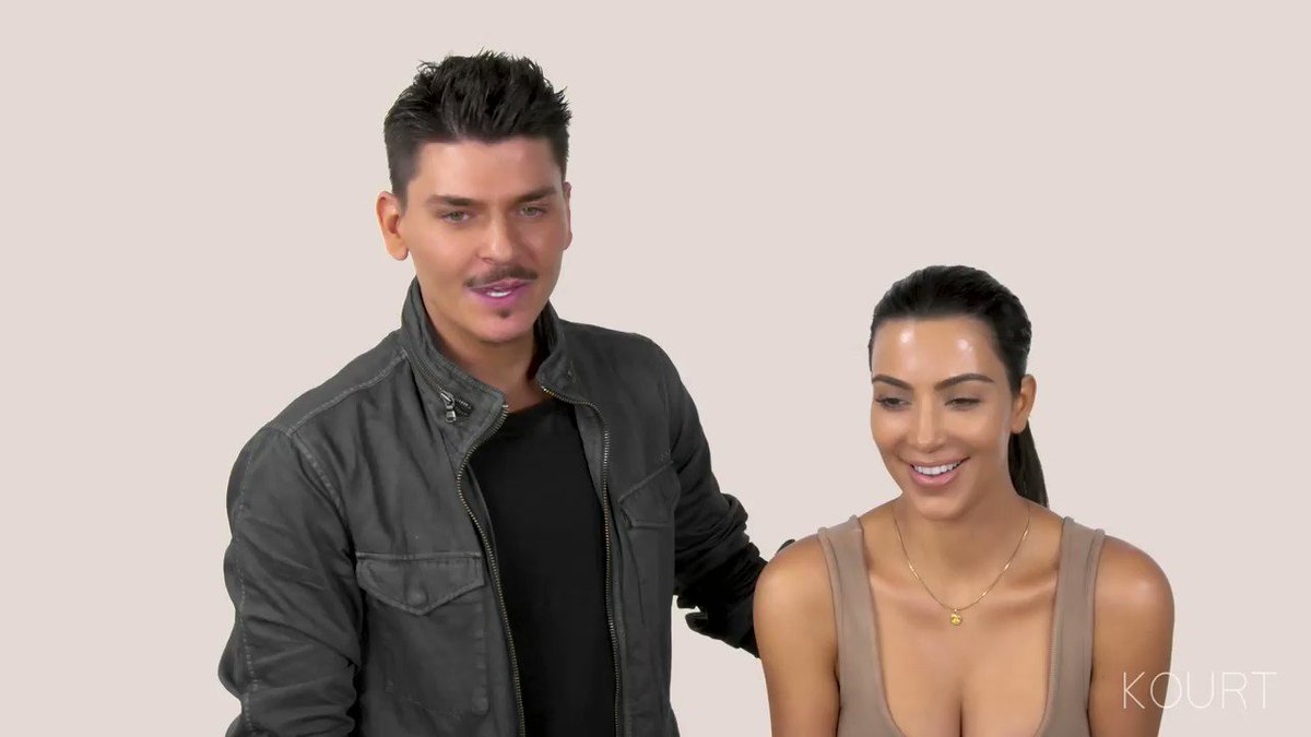 Kim's makeup tutorial with KKW Beauty: https://t.co/6RiU5M2dDZ https://t.co/JcjPQqrsFg