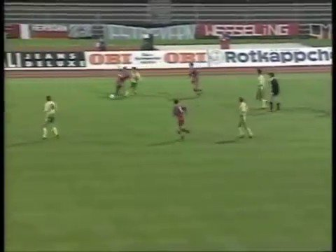 Jeremy Goss vs Bayern Munich, 1993.