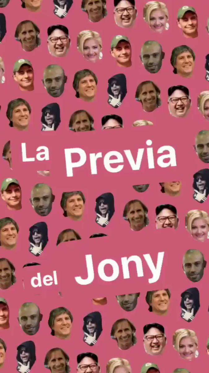 RT @ElJonyKuele: YA! #LaPreviaDelJony 🍺🍻🍺🍻🍺 📻 105.5 💪🏼 @Los40ar https://t.co/dActMcjFrg