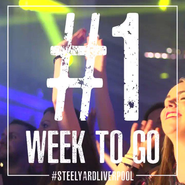 Only 1 week left to go until #CreamClassicalSteelYard! 🙌❗️   Buy your tickets today ➡️ https://t.co/zWlTAKEHgo  #FridayFeeling