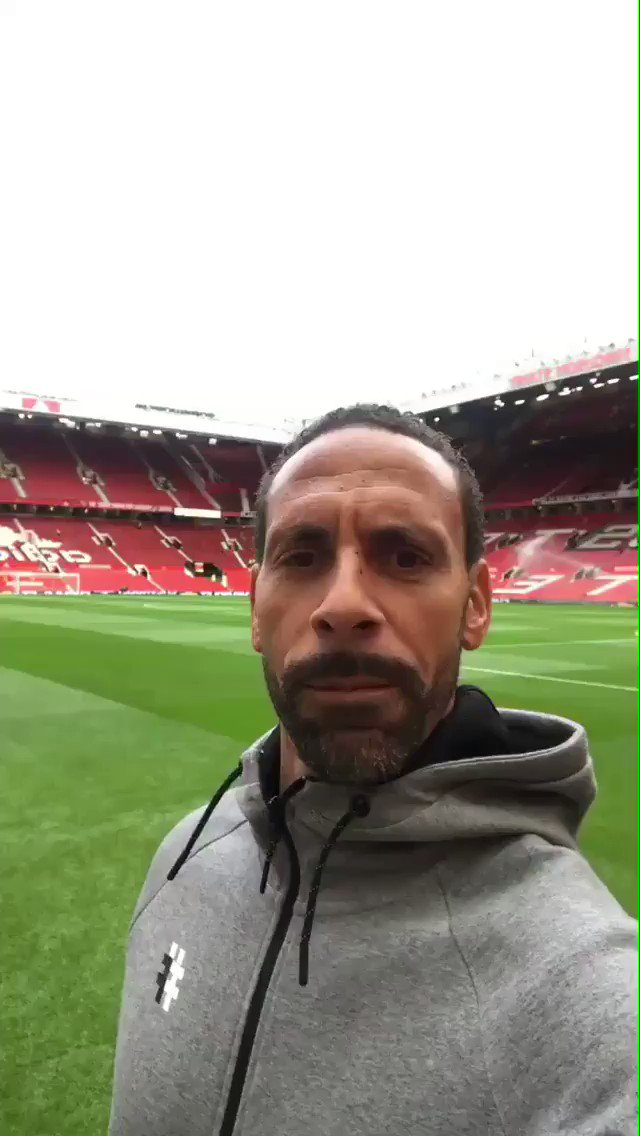 Touched down at Old Trafford... come on @ManUtd ⚽️ LIVE on @btsportfootball from 5pm!!! https://t.co/3r6Y6ydiUk