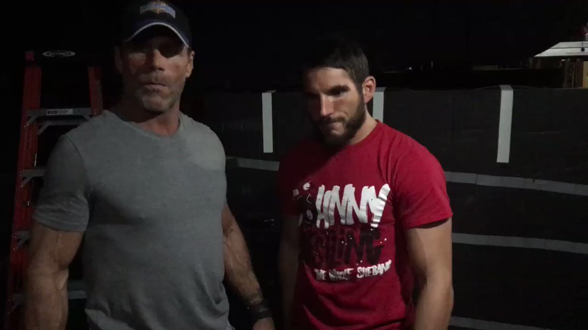 Cast your vote for @JohnnyGargano or me!! #AbOff https://t.co/2bjwC7rnl8