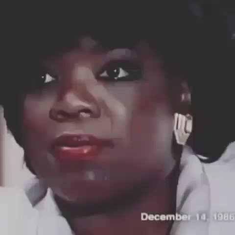 Oprah Winfrey being interviewed around the time her show first started. I love what she said here.