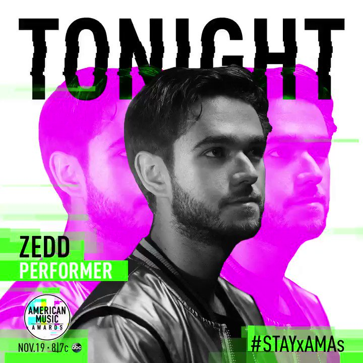 Can't wait to perform on the @AMAs tonig...