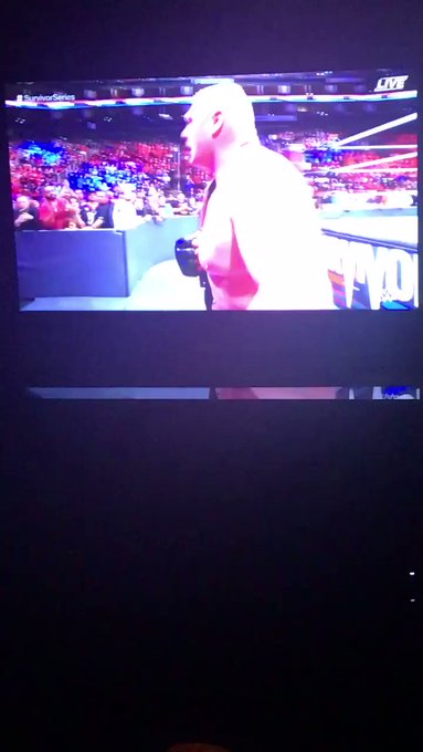 Let's go Team Raw watching WWE #SurvivorSeries #Raw vs #SmackdownLive https://t.co/wS9NIrrqZd