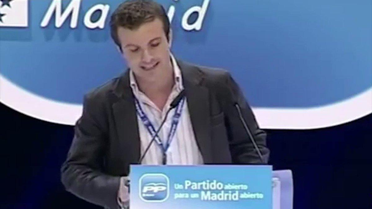 La poca vergüenza de Pablo Casado es igu...