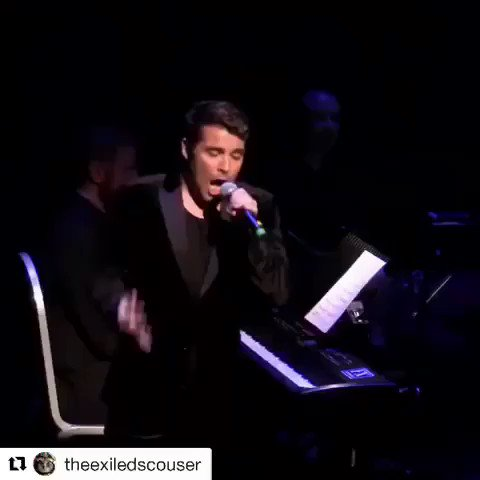 One of my faves from the Saturday night at the movies album! Great to sing it again last night! https://t.co/Smq1sIJhJp