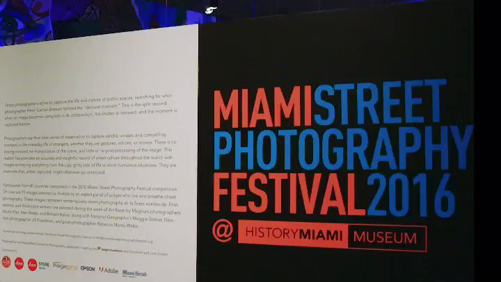 Miami Street Photography Festival is rig...