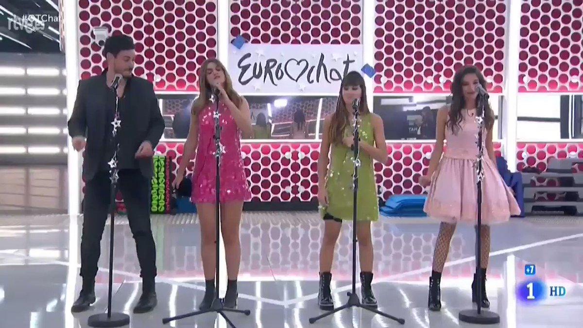 Ana, Cepeda, Amaia y Aitana. #OTChat htt...