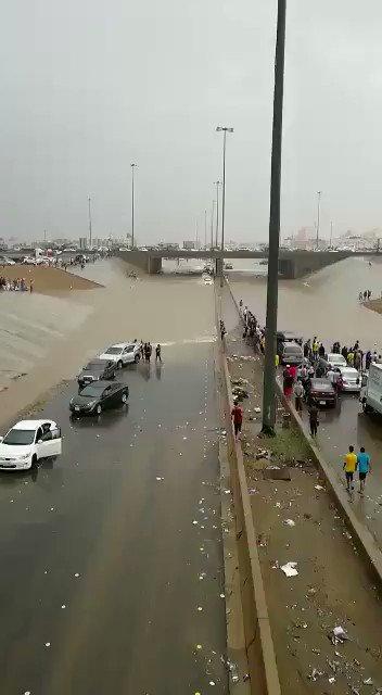 خصصت المليارات لتصريف مياه الامطار فصرفت...