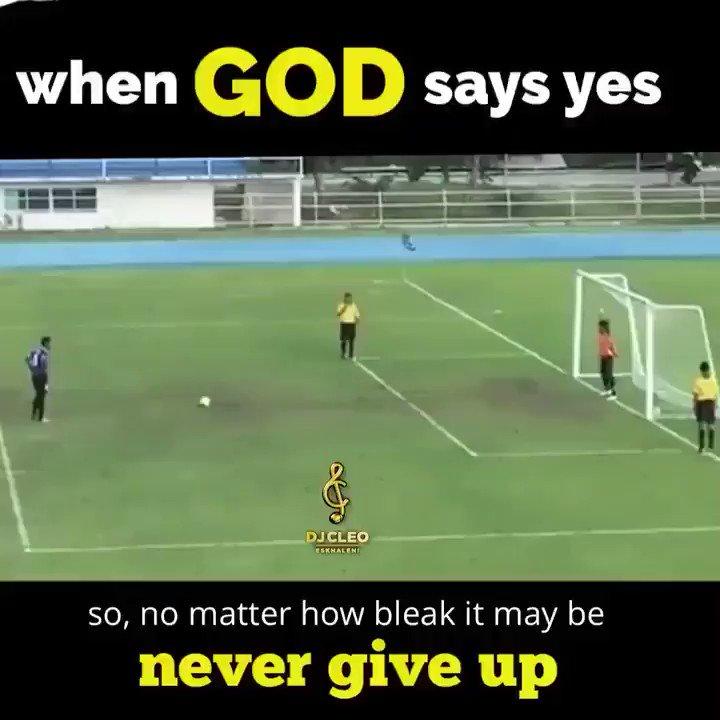 When God says yes..... #MugabeResigns