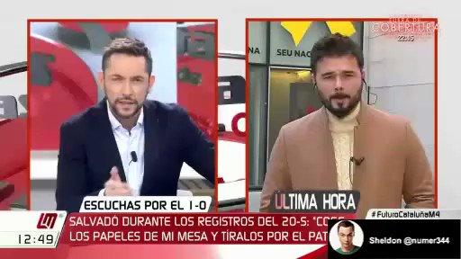 Nuevo ridículo de Rufián. https://t.co/4...