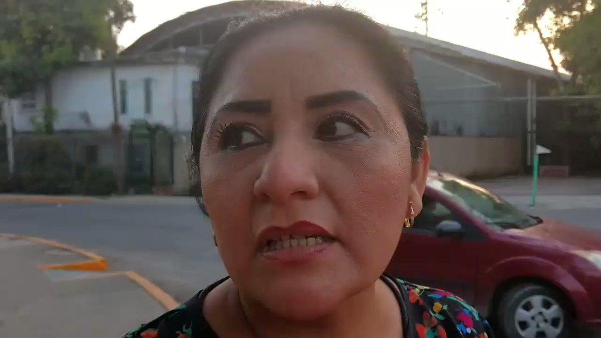 La delegada de la colonia Carrizal expon...