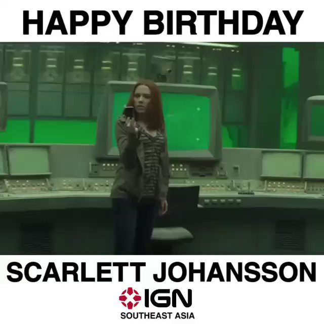 Happy Birthday to the one and only Scarlett Johansson!