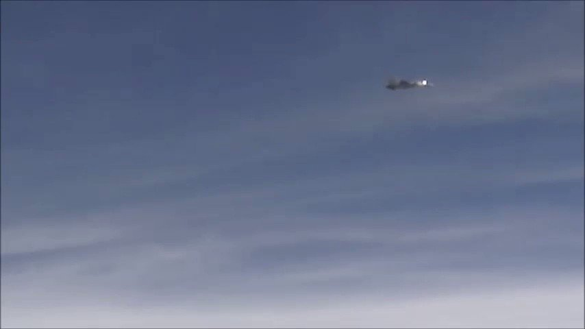 Surreal. Video of the air-launched versi...