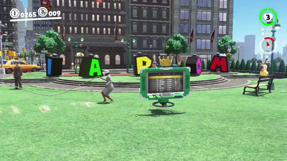 RT @FTLsproduction: #SuperMarioOdyssey #NintendoSwitch It seems h3llish . . . . https://t.co/8JxtEqb8vh