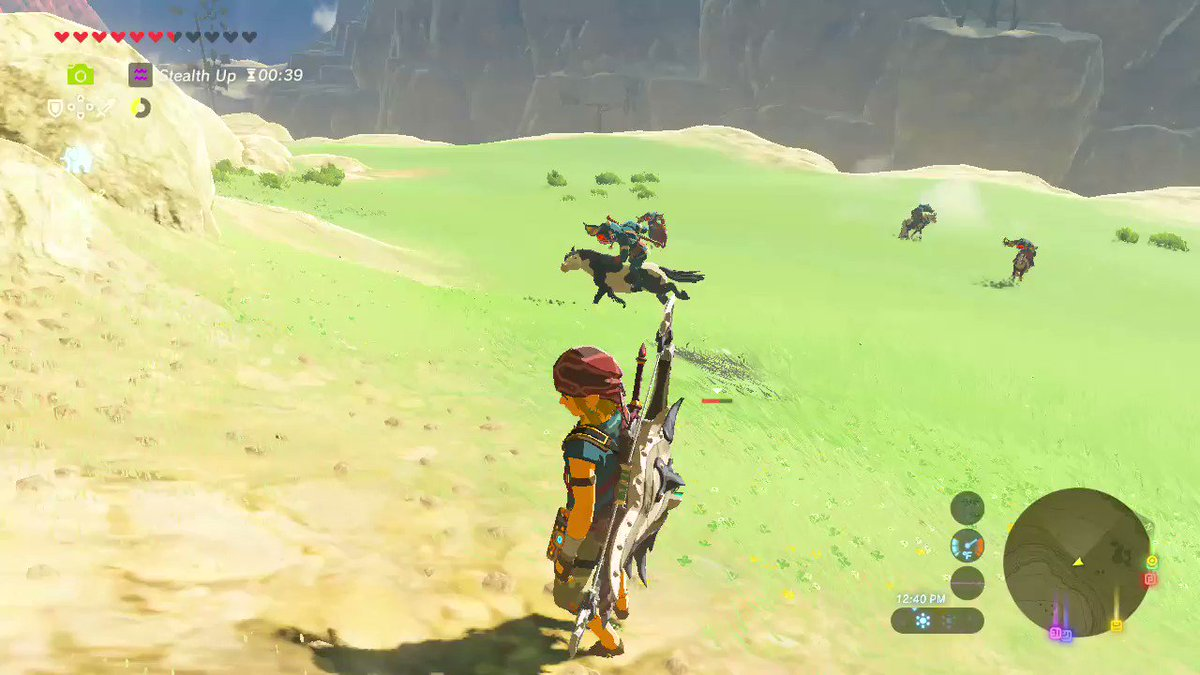 RT @Elijahc33702870: #BreathoftheWild #NintendoSwitch Magic https://t.co/T29ZimdI5Q