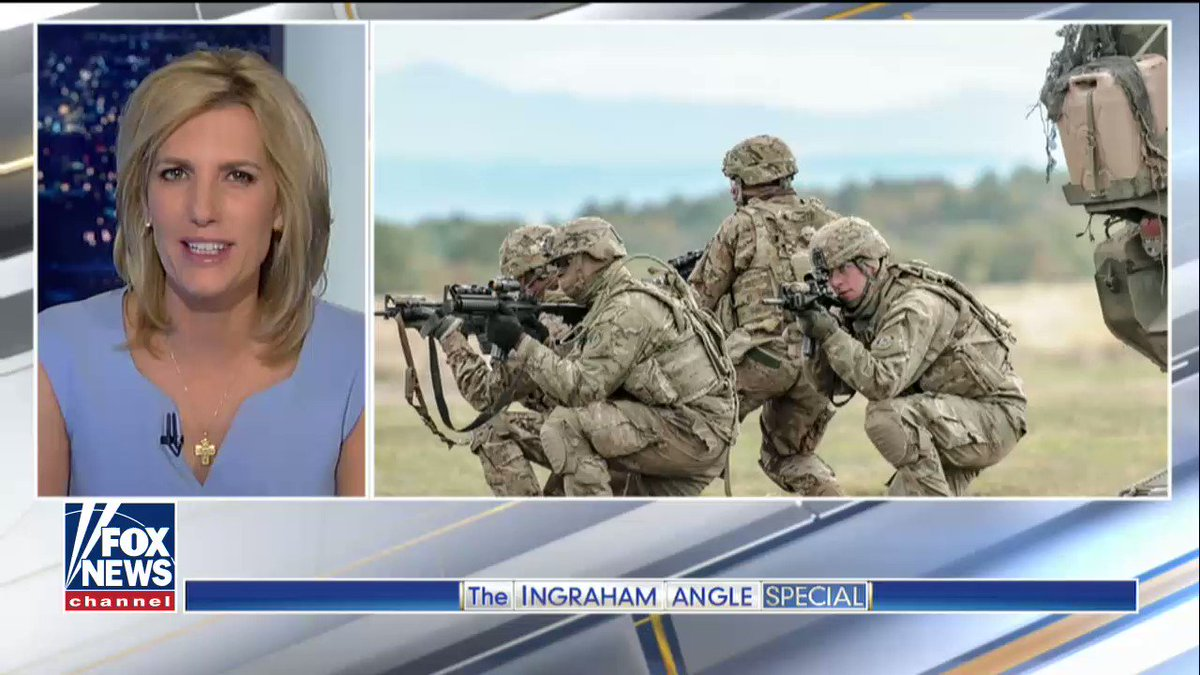 """RT @SiddonsDan: https://t.co/IfwlIVLthR #IngrahamAngle """"Their extraordinary sacrifice, the risk they take to defend this country, is someth…"""