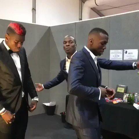 RT @futtmais: Com vocês, os irmãos Pogba 🔥 https://t.co/65YrUFqPql
