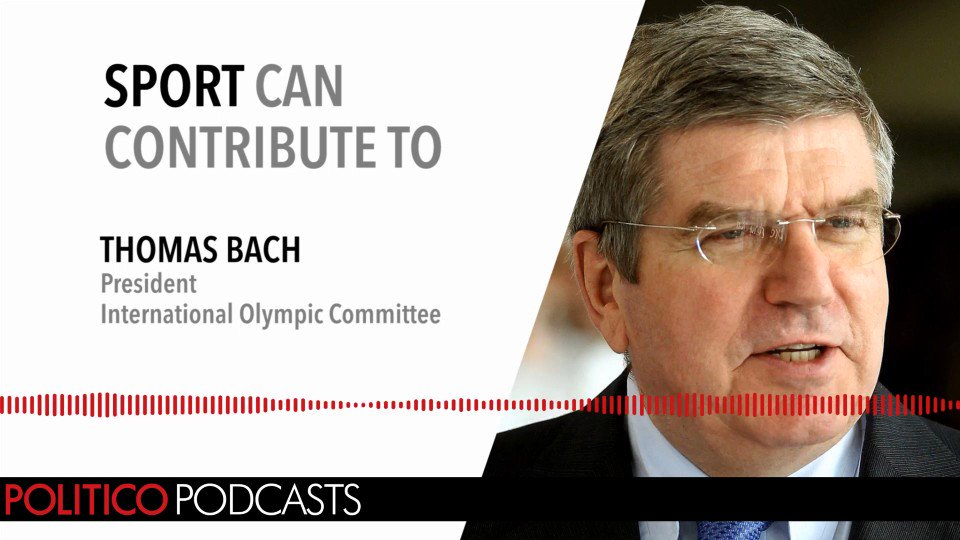 This week, the EU Confidential podcast talks German coalition chaos and has an interview with IOC President Thomas Bach https://t.co/UX6c2umLUJ
