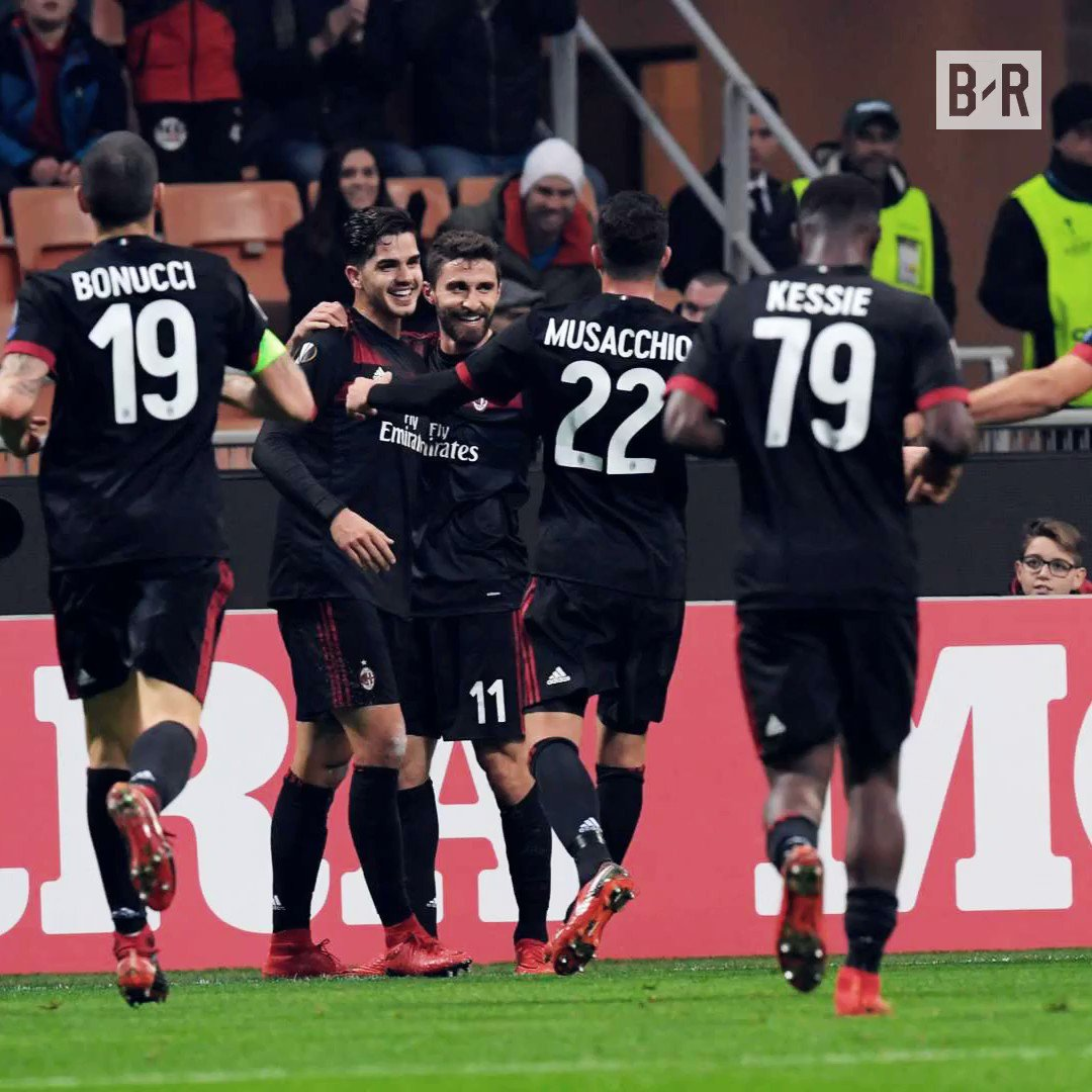 AC Milan are through to the knockout sta...