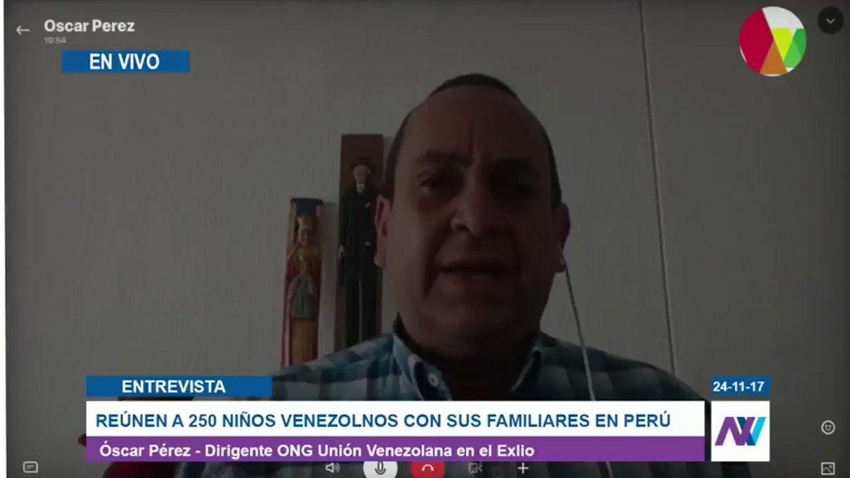 Óscar Pérez: Es permanente ver a padres...