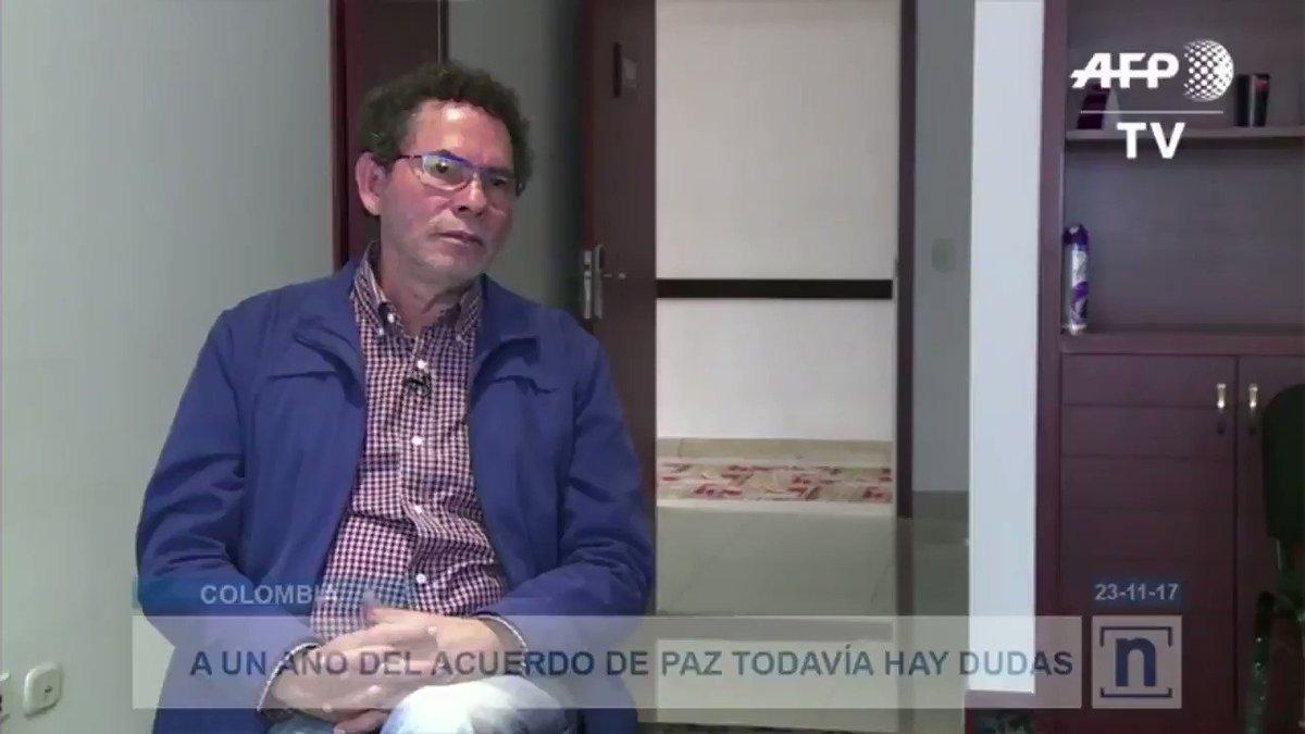 #Colombia A un año de firmar el acuerdo...