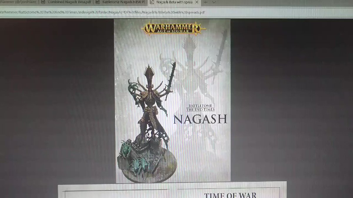Nagash the end pdf times