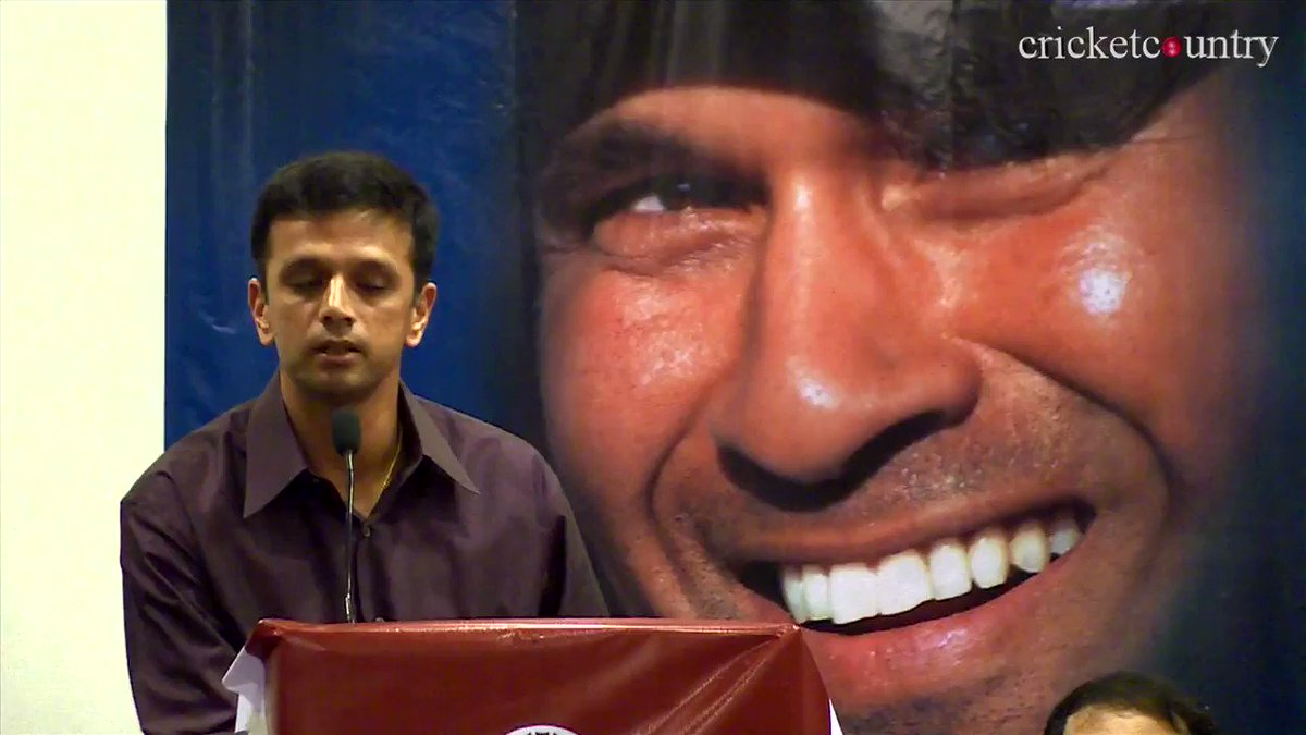 Never forget that time Rahul Dravid imitated Sachin. https://t.co/QbTcDRfDZx