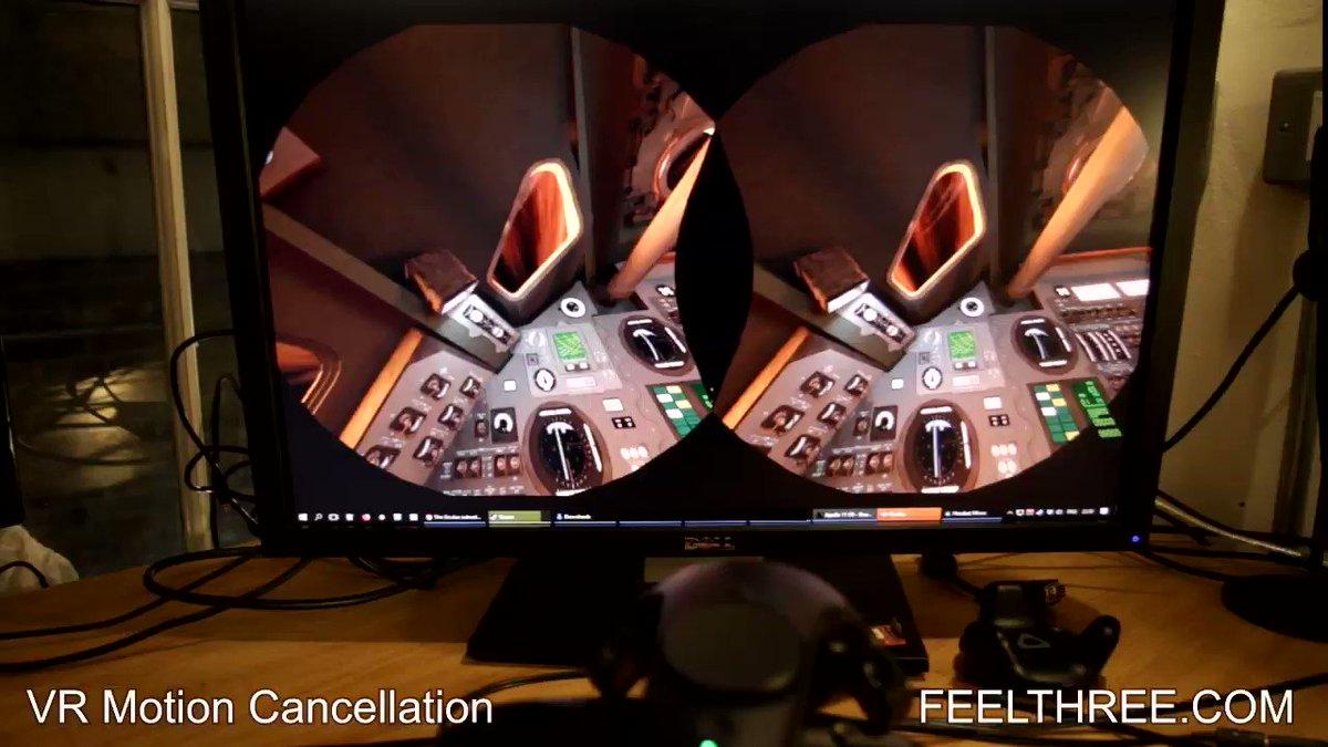 FEEL THREE : Virtual Reality 100°+ Sim в Twitter:
