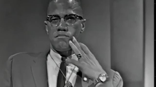 Malcolm X exposes the white Liberals and fake black leaders