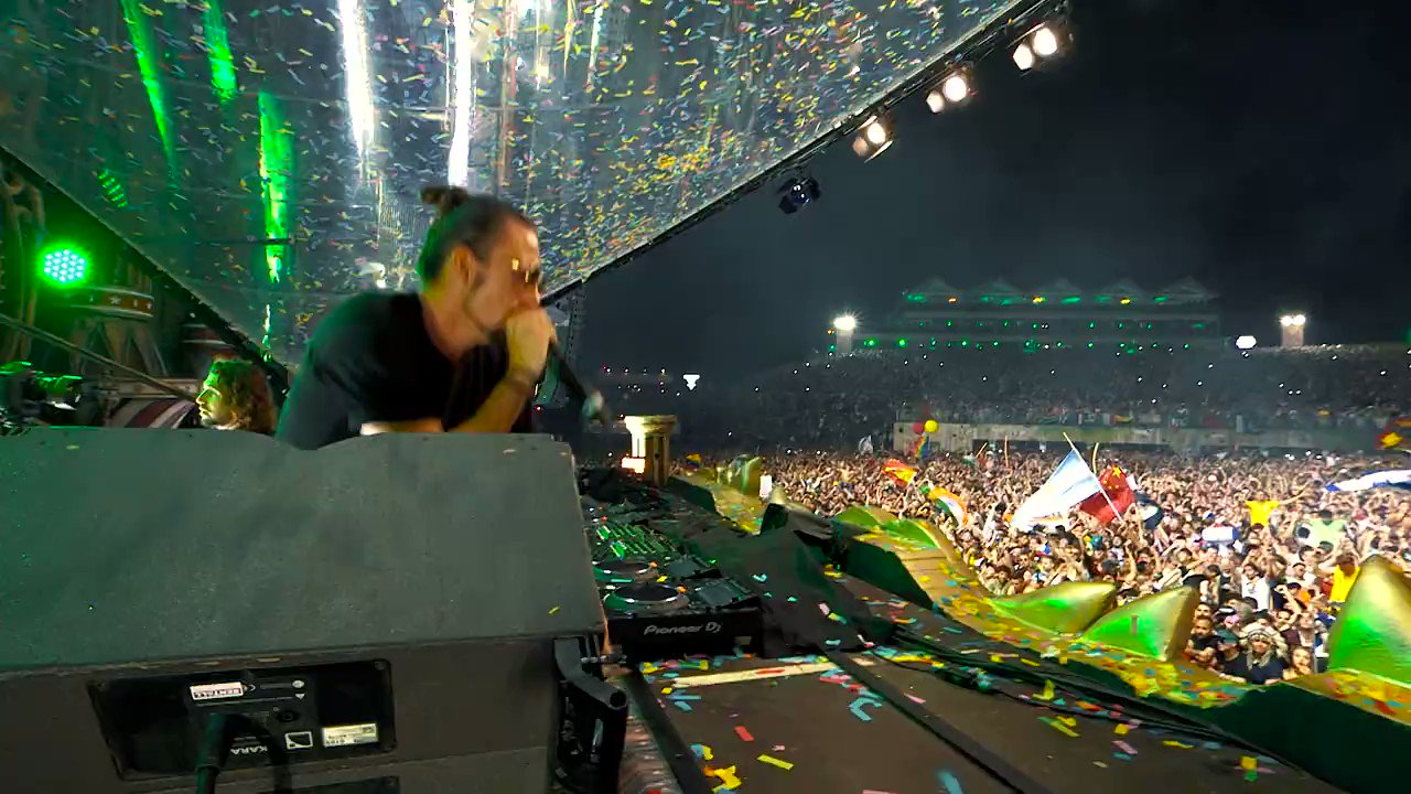 Happy Birthday Thank you for the Amazing Energy.  Dimitri Vegas & Like Mike