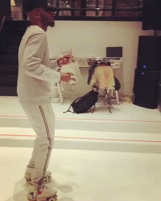Skating through my house in Margiela pants in my mind. https://t.co/9XsGORYS5s