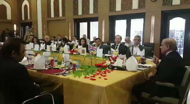 RT @GovtOfPunjab: . @CMShehbaz hosts lunch in the honor of British delegation led by Mayor of #London @SadiqKhan https://t.co/HUBDKb8nv3