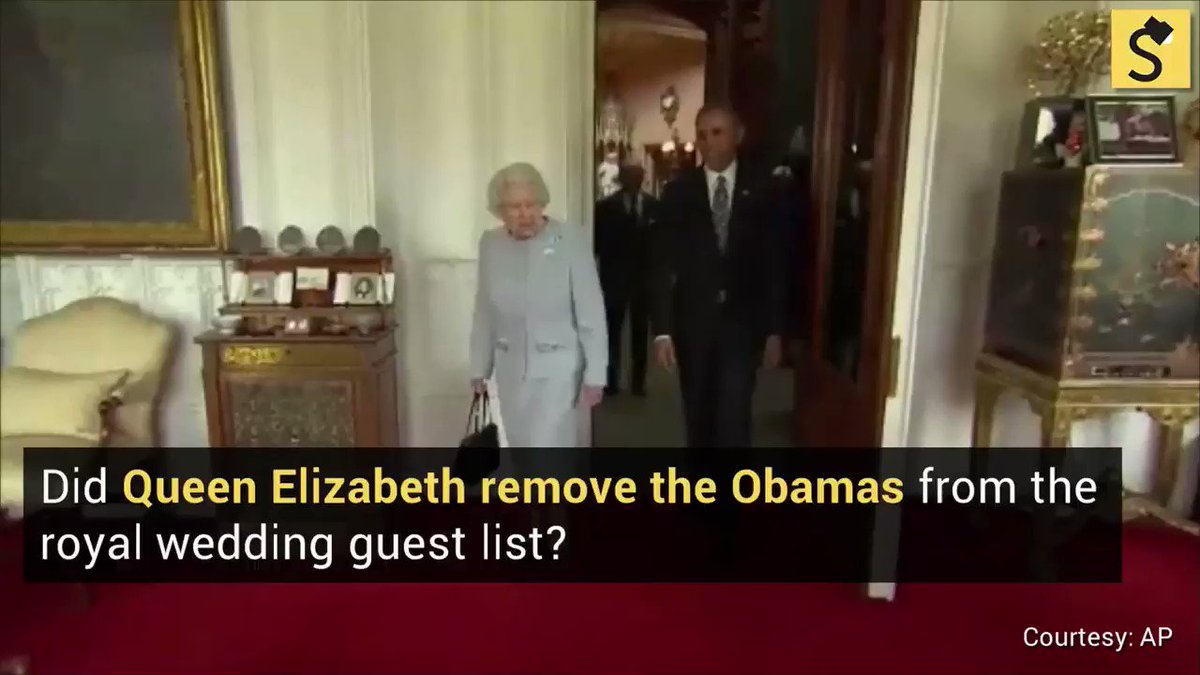 7704ebbce Fact Check  Did Queen Elizabeth Remove the Obamas from Royal Wedding Guest  List  Full
