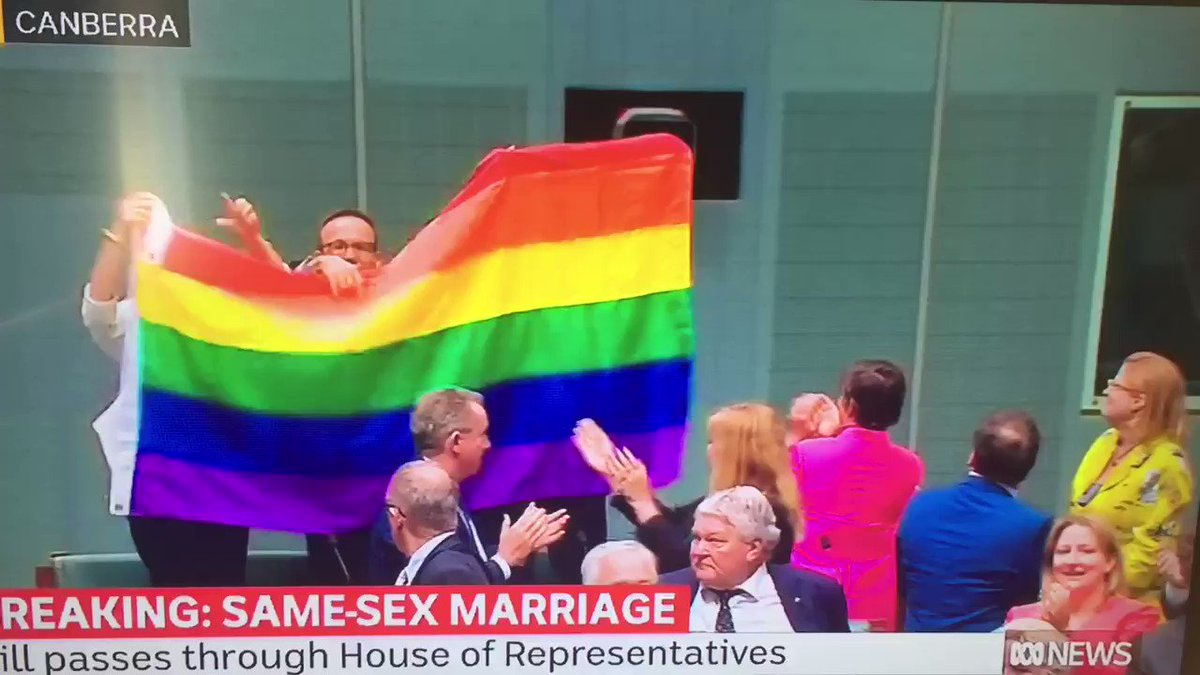 History is made #marriageequaility https...