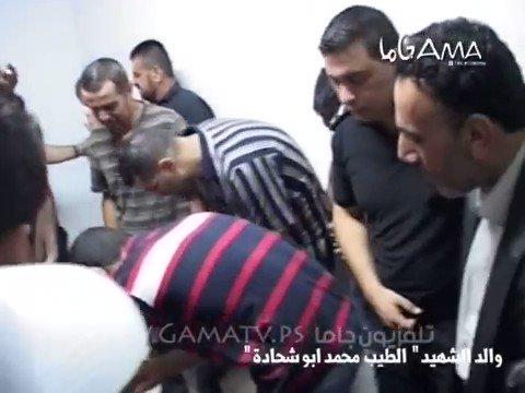 هكذا هم ابناء فلسطين .. وهذا ما لا يظهره...