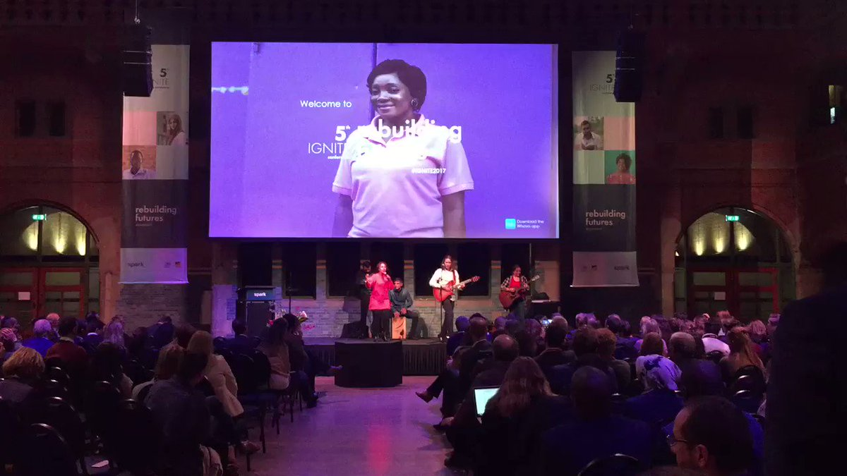 RT @SPARKorg: Musical intermezzo by Orchestre Partout #IGNITE2017 #RebuildingFutures @BeursVanBerlage https://t.co/KOfhrn1IAW